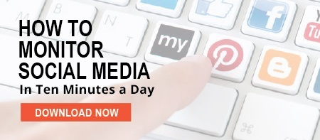 Click here to download How to monitor social media in ten minutes a day
