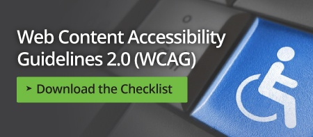 Web Content Accessibility Guidelines 2.0 (WCAG) Checklist