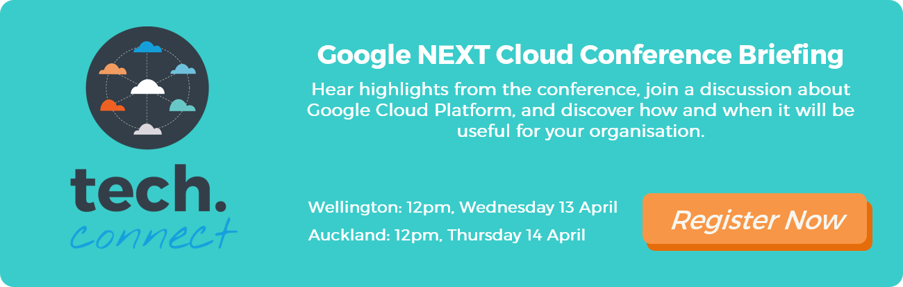 Google NEXT Cloud Conference Debriefing