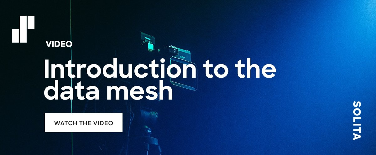 CTA: Introduction to data mesh video