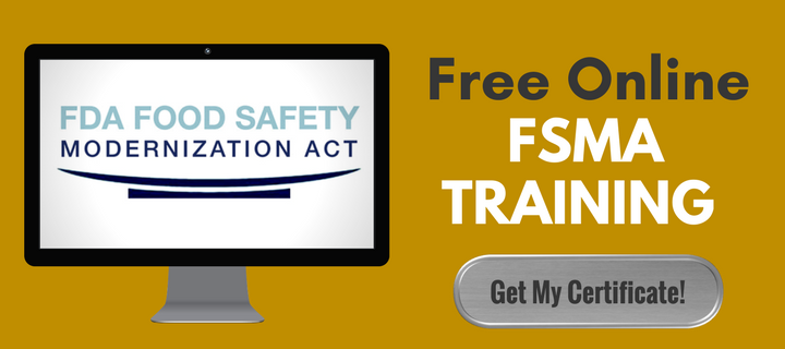 Free Online FSMA Training - Get My Certificate!