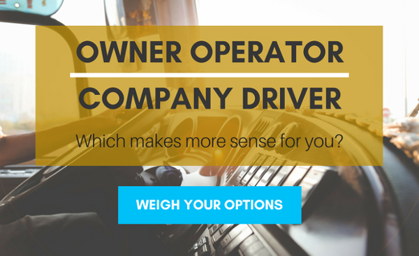 company driver vs owner operator