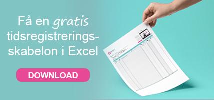 Tidsregistrering i Excel