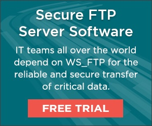 The proven, reliable FTP server preferred by thousands of organizations and  millions of users today. GET A FREE TRIAL OF WS_FTP
