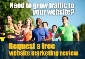 request a free website marketing review