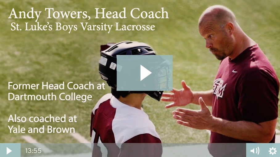 St. Luke's Lacrosse Head Coach Andy Towers Video Interview