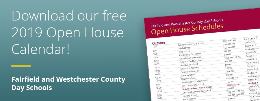 Download the 2019 Open House Calendar