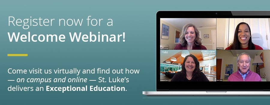 Register for a Welcome Webinar