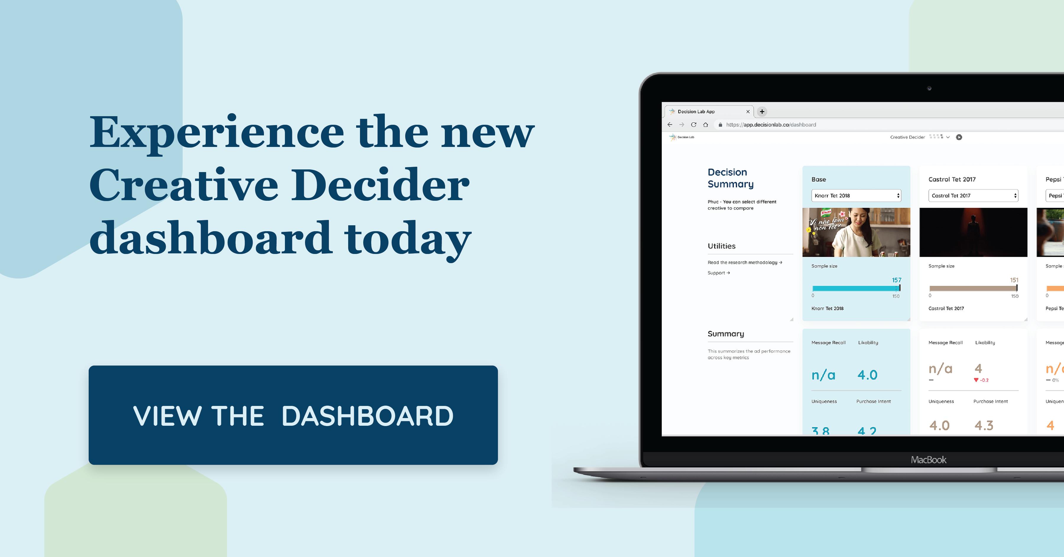 CRDR - Creative Decider - Tet 2018 Dashboard