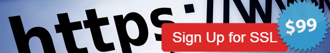 Special SSL Offer