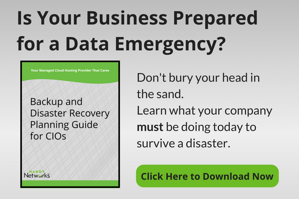 Handy Networks - Backup and Disaster Recovery Planning Guide for Colorado CIOs