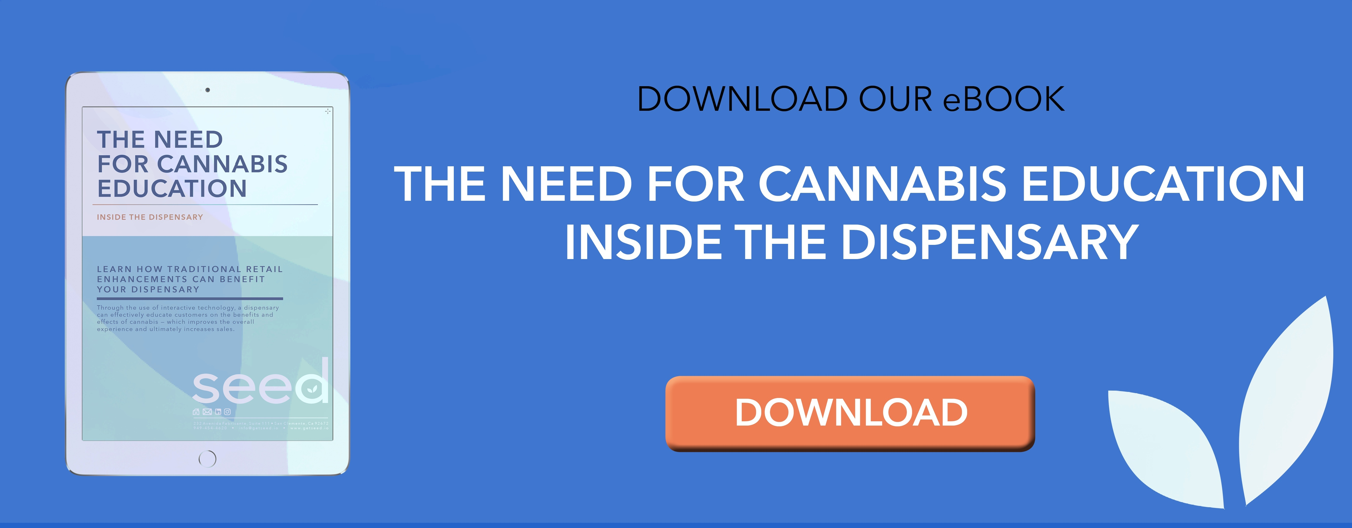 Download free eBook on Cannabis Education inside the Dispensary