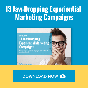 13 Jaw-Dropping Experiential Marketing Campaigns