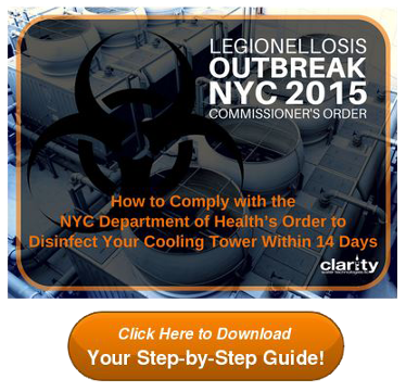 Download How to Comply with the Commissioner's Order to Disinfect Your Cooling Tower within 14 Days!