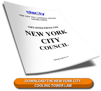 Download the NYC Cooling Tower Law to Prevent Legionella in Cooling Towers