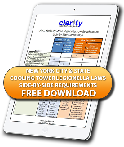 Download NY City and State Cooling Tower Laws Side by Side Comparison Chart