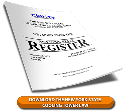 Download the New York State Cooling Tower Law to Prevent Legionella in Cooling Towers