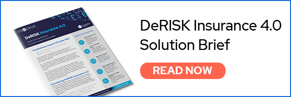 DeRISK Insurance - quantify and value the business impact of cyber risk in real-time