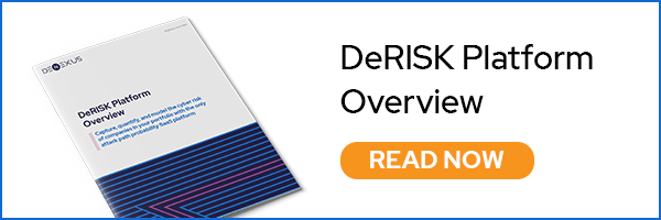 DeRISK eBook - learn how the DeNexus SaaS platform solves risk by quantifying it in real-time