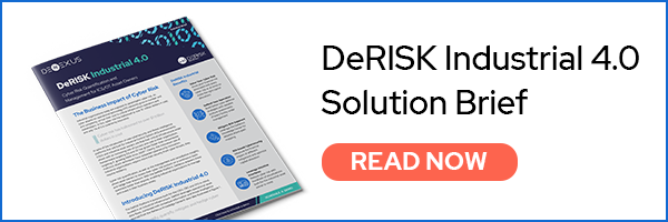 DeRISK Industrial - Solve cyber risk for ICS and OT asset owners and industrial enterprises
