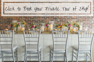 Book a Tour of SKY Armory Wedding Reception Venue