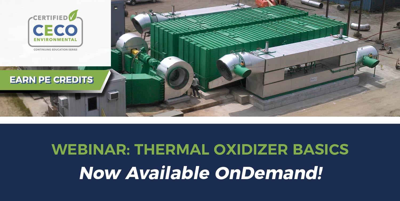 Thermal Oxidizer Webinar