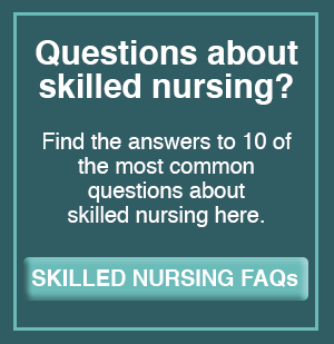 Skilled Nursing FAQs button