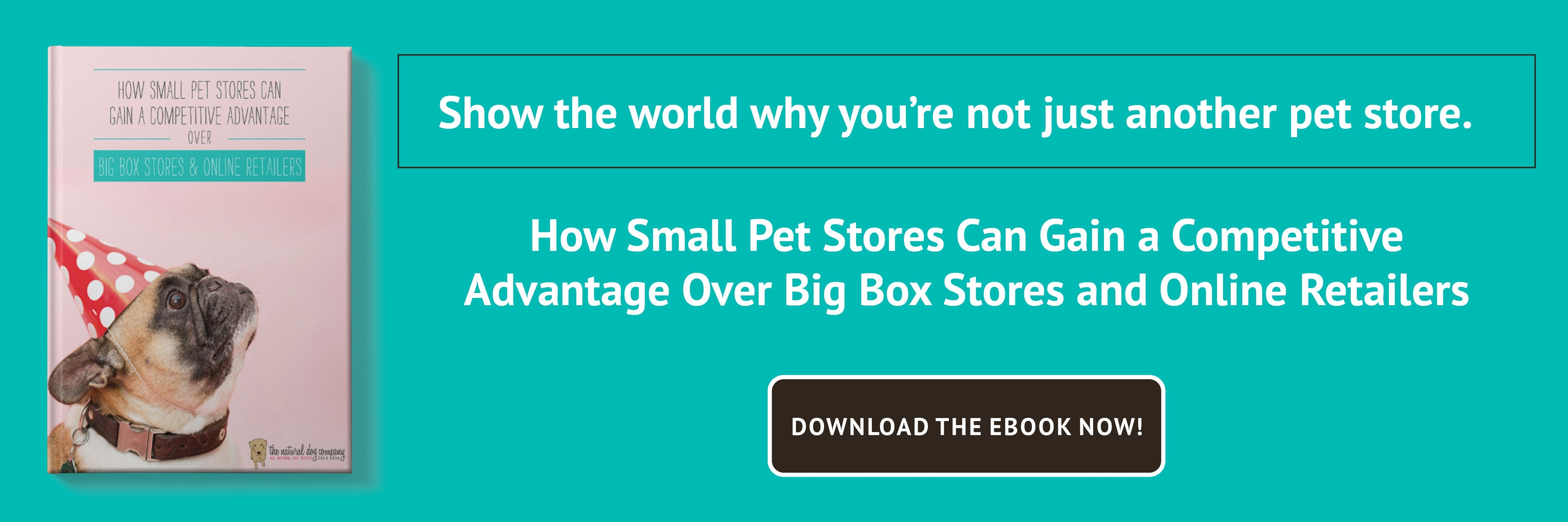 How Small Pet Stores Can Gain a Competitive Advantage Over Big Box Stores and Online Retailers