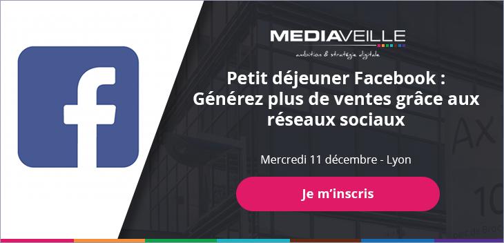 Inscrivez-vous à notre événement en partenariat avec Facebook