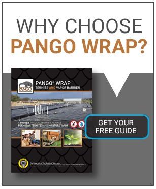 Pango Wrap Vapor Termite Barrier