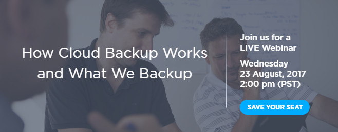 How Cloud Backup Works and What We Backup