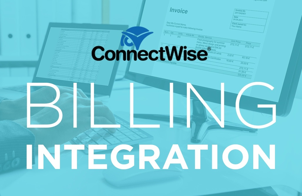 ConnectWise Manage  Billing Integration