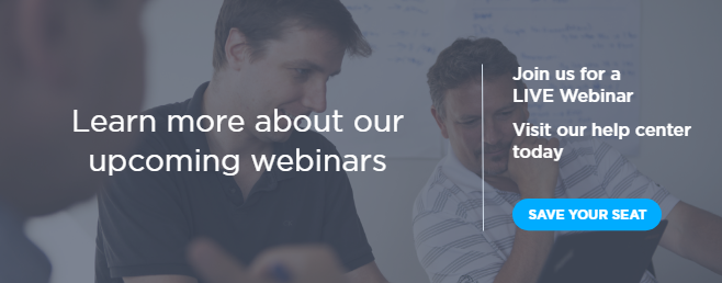 Learn more about our upcoming webinars