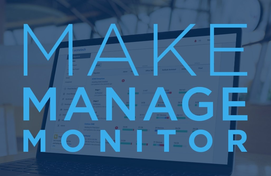 How to make, manage, and  monitor advanced  migration configuration