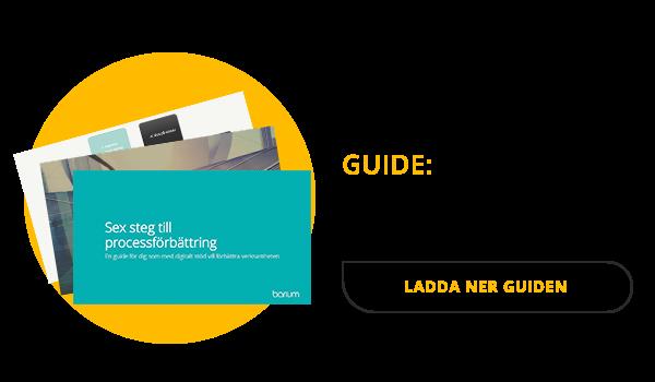 Guide: 6 steg till processförbättring