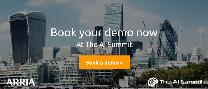 AI Summit London - Book your NLG reporting demo