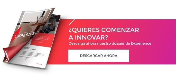 Descarga nuestro dossier de nuestro servicio de Innovación - Dxperience
