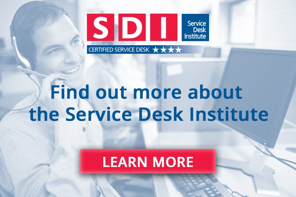 service desk institute