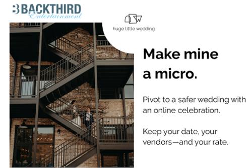 make the Huge Little Wedding pivot