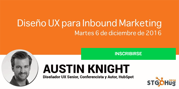 Diseño UX para Inbound Marketing de Santiago HubSpot User Group