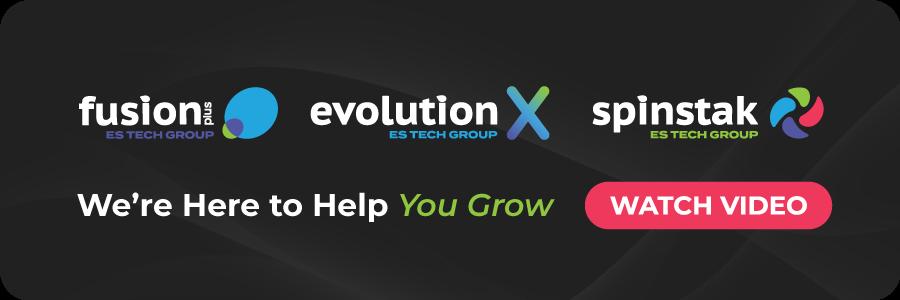 es tech group evolutionx fusionplus spinstak growth agency
