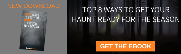 Download ebook Top 8 Ways to Get your Haunt Ready for the Season from Gatemaster