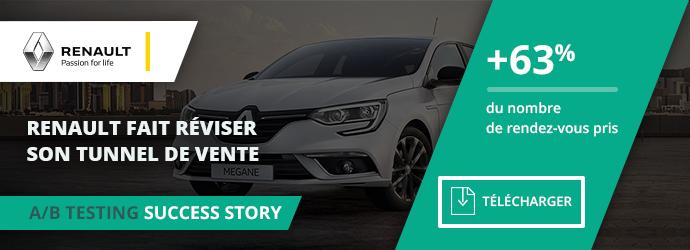 success story Renault - tunnel de conversion