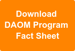 Download  DAOM Program  Fact Sheet