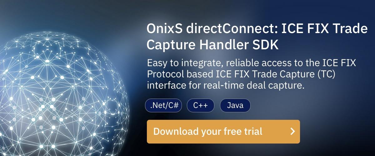 ICE FIX Trade Capture Handler SDK Download