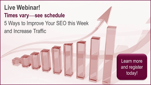 Get five ways to improve your SEO this week and increase traffic