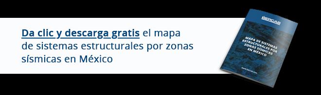 Da clic y descarga gratis el mapa de sistemas estructurales por zonas sísmicas en México