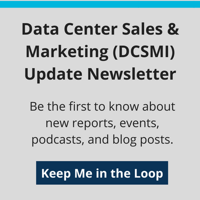 Data Center Sales & Marketing (DCSMI) Update Newsletter