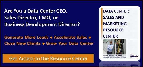 Get Access to the Data Center Sales and Marketing Resource Center