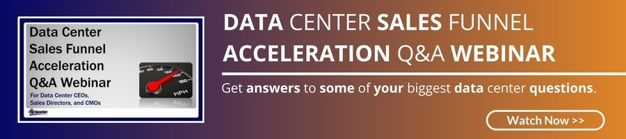 Data Center Sales Funnel Acceleration Q&A Webinar